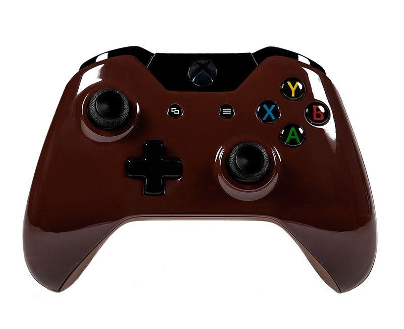 Беспроводной геймпад для Xbox One ВЕДЬМАКОВЫЙ КОРИЧНЕВЫЙ (XboxOne)