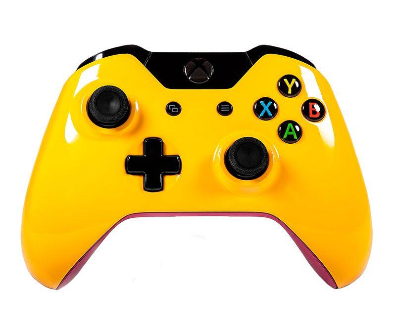 Беспроводной геймпад для Xbox One ЖЕЛТЫЙ ТОТОРРО  (XboxOne)