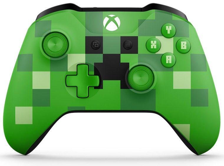 Геймпад для Xbox One Беспроводной MINECRAFT (WL3-00057)