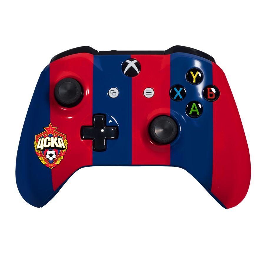 Кастомизированный контроллер «Красно-Синий» (XboxOne)