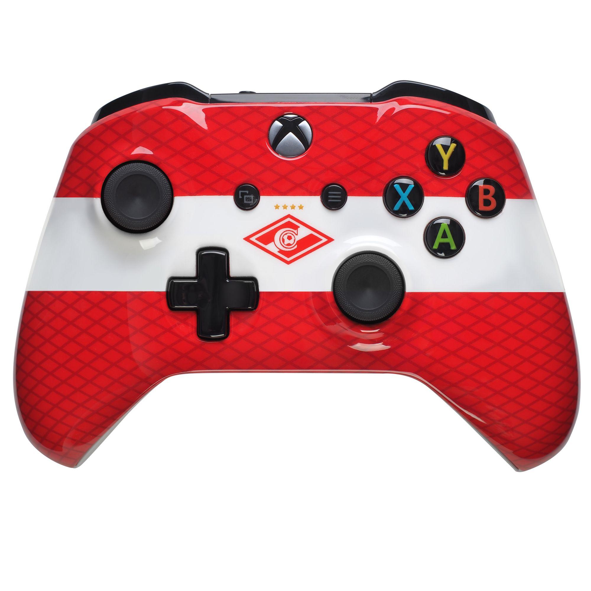 Кастомизированный контроллер Xbox One «Красно-Белый» (XboxOne)