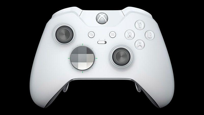 Xbox One Беспроводной геймпад. Elite WHITE (HM3-00012)