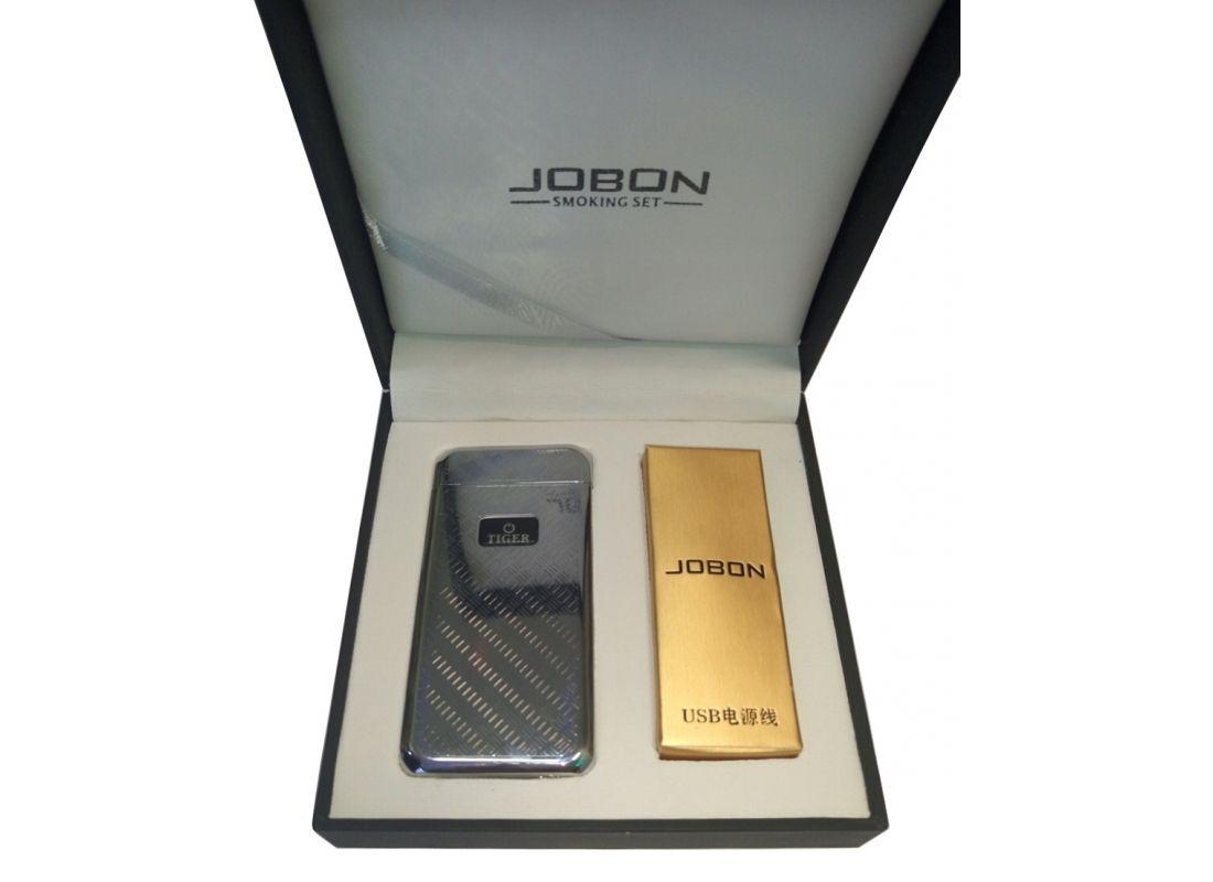 Электроимпульсная USB зажигалка Jobon Tiger