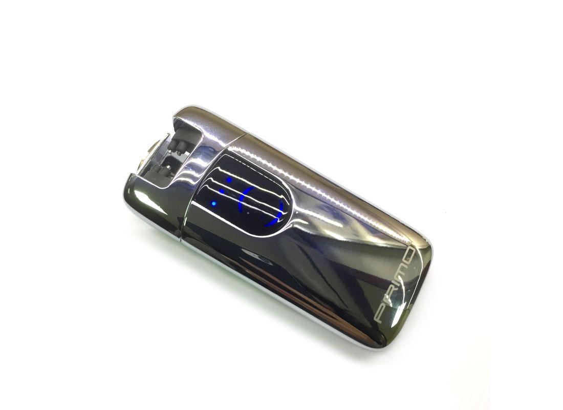 Электроимпульсная зажигалка USB PRIMO Silver