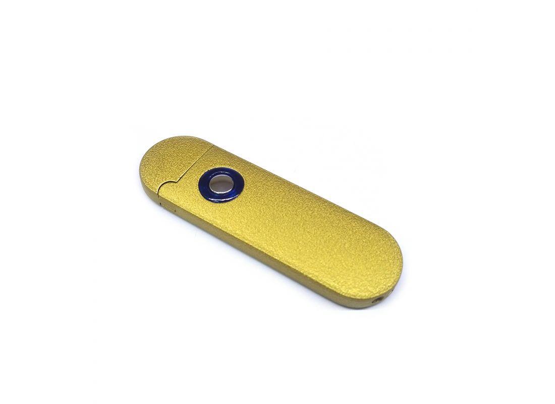Спиральная зажигалка USB Lighter Gold Graphite