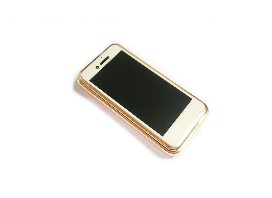 Спиральная зажигалка USB Lighter Gold iPhone