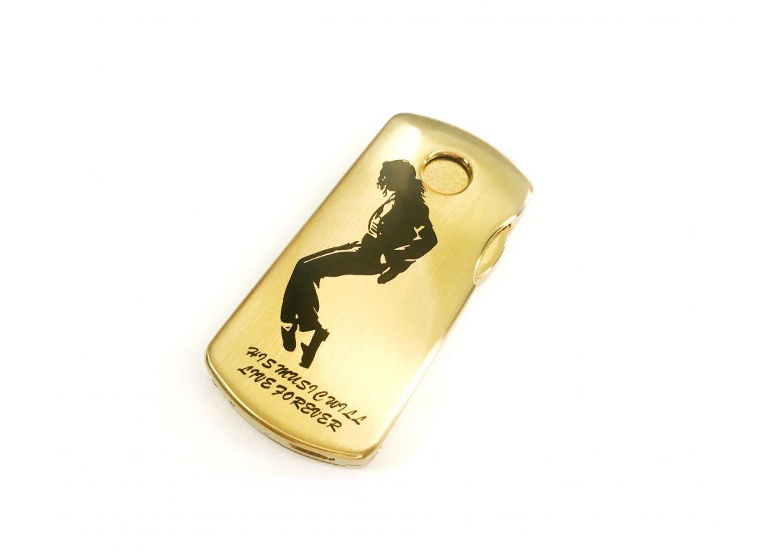 Спиральная зажигалка USB Lighter LinLun Gold