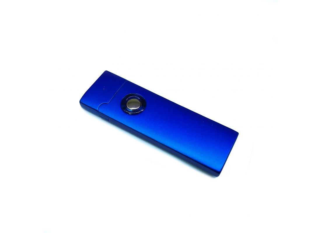Спиральная зажигалка USB Lighter Smooth Blue