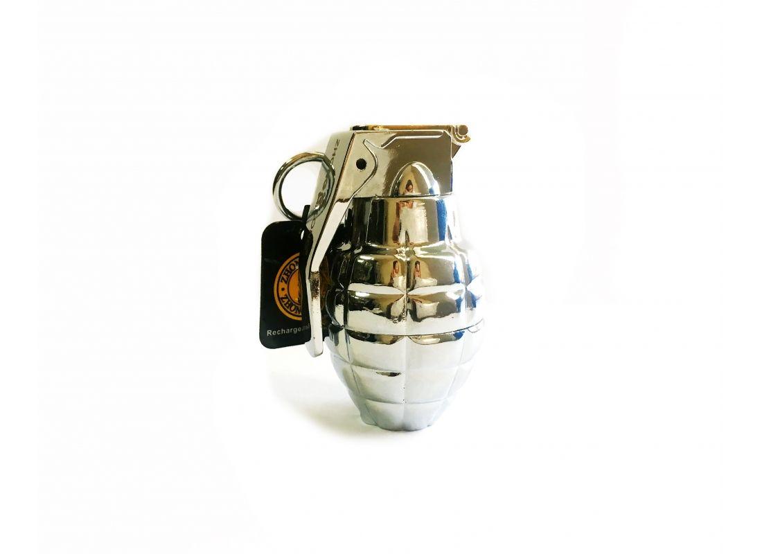 Спиральная зажигалка USB Zhong Long grenade