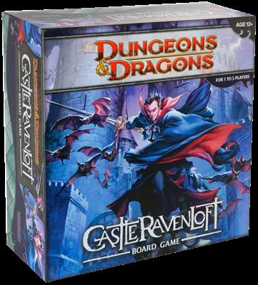 Настольная игра: Подземелья и драконы: «Равенлофт» (Castle Ravenloft)