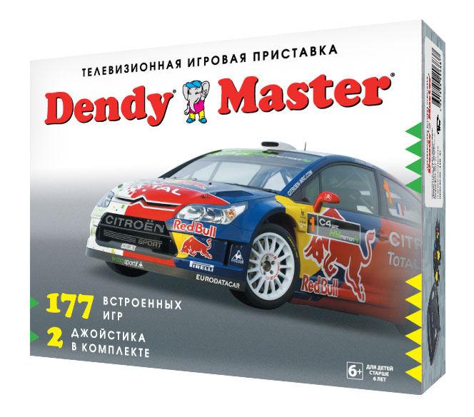 DENDY Мастер (177 встроенных игр)