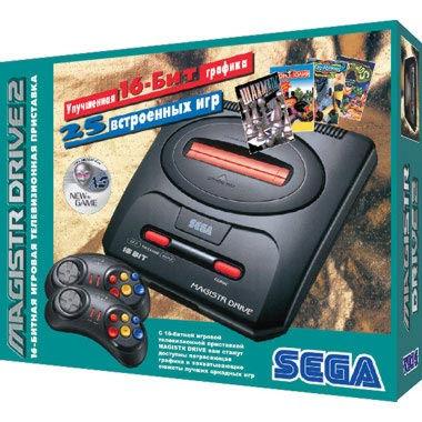 SEGA Magistr Drive 2 (25 встроенных игр)