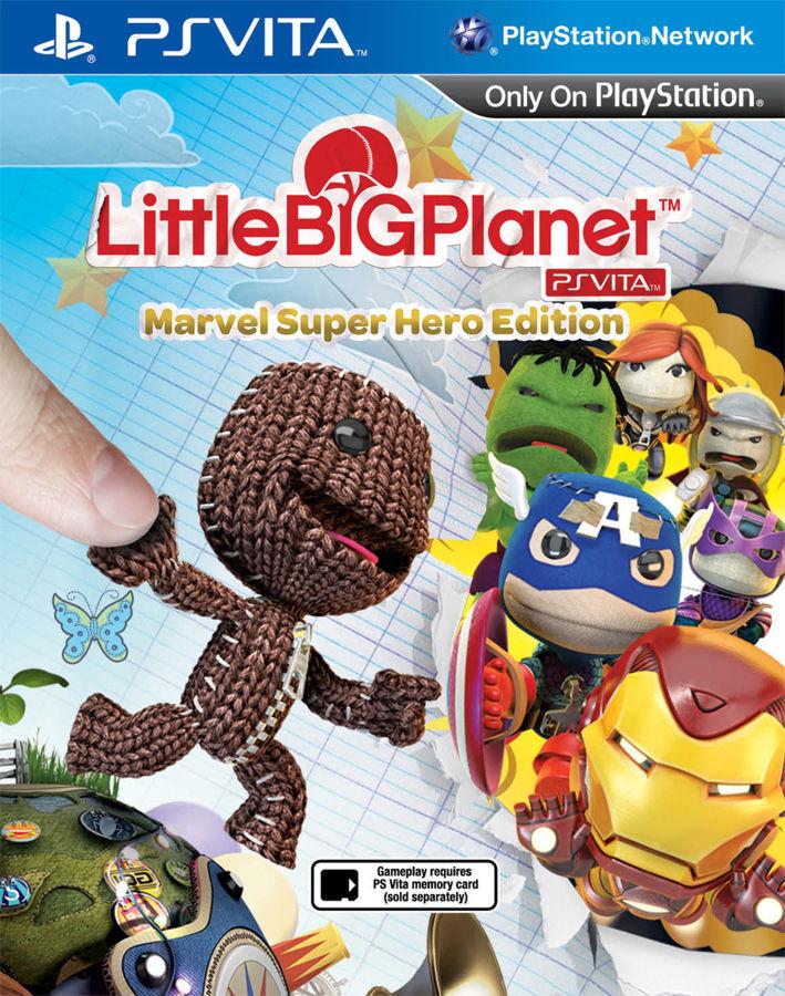 LittleBigPlanet Marvel Super Hero Edition (русская версия) PSV