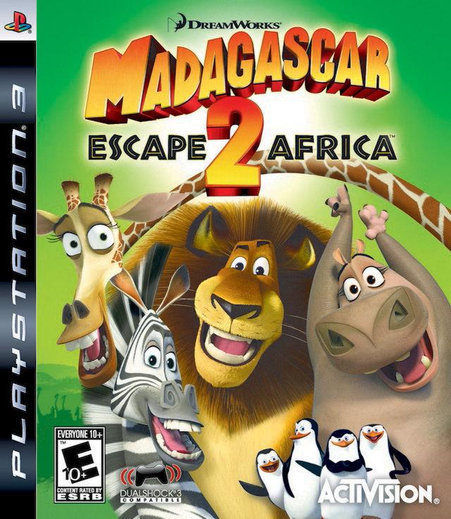 Madagascar: Escape 2 Africa PS3