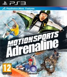 MotionSports Адреналин (для Move) (русская обложка) PS3