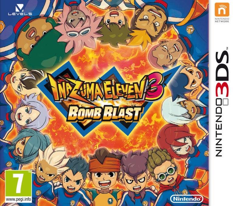 Inazuma Eleven: Bomb Blast 3DS