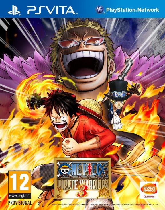 One Piece Pirate Warriors 3 PSV