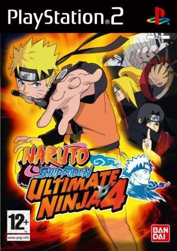 PS2  Ultimate Ninja 4: Naturo Shippuden