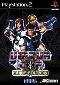 PS2  Virtua Cop Elite Edition