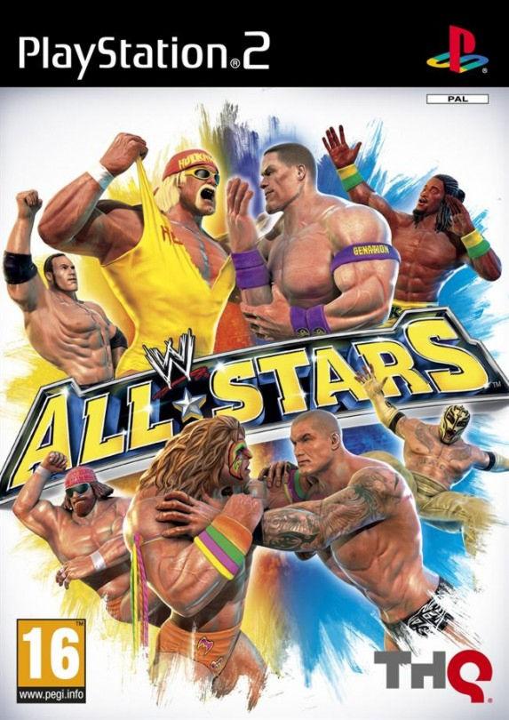 PS2  WWE All Stars
