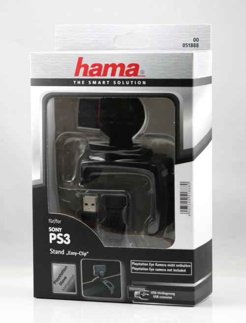 PS 3 Держатель HAMA Easy-Clip для крепления камеры Sony PS Move к ЖК-телевизорам (H-51888)
