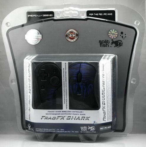 PS 3 Джойстик Dual SFX Frag Shark акулий зуб(беспроводной комплект)