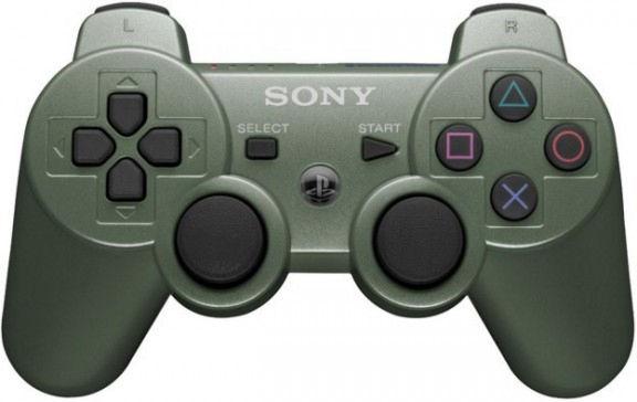 PS 3 Джойстик Dual Shock Jungle Green Original