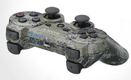PS 3 Джойстик Dual Shock камуфляж Original