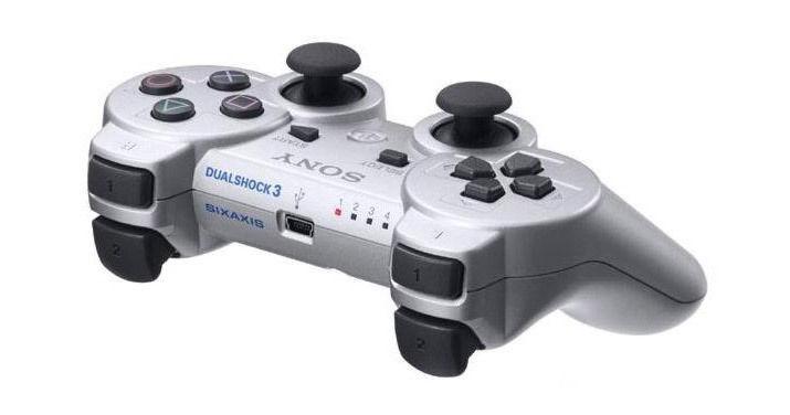 PS 3 Джойстик Dual Shock Silver Original