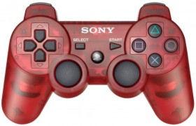 PS 3 Джойстик Dual Shock Сrimson Red Original (блистер)