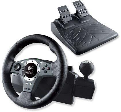 PS 3 Руль LOGITECH Driving Force Pro Wheel (941-000011)