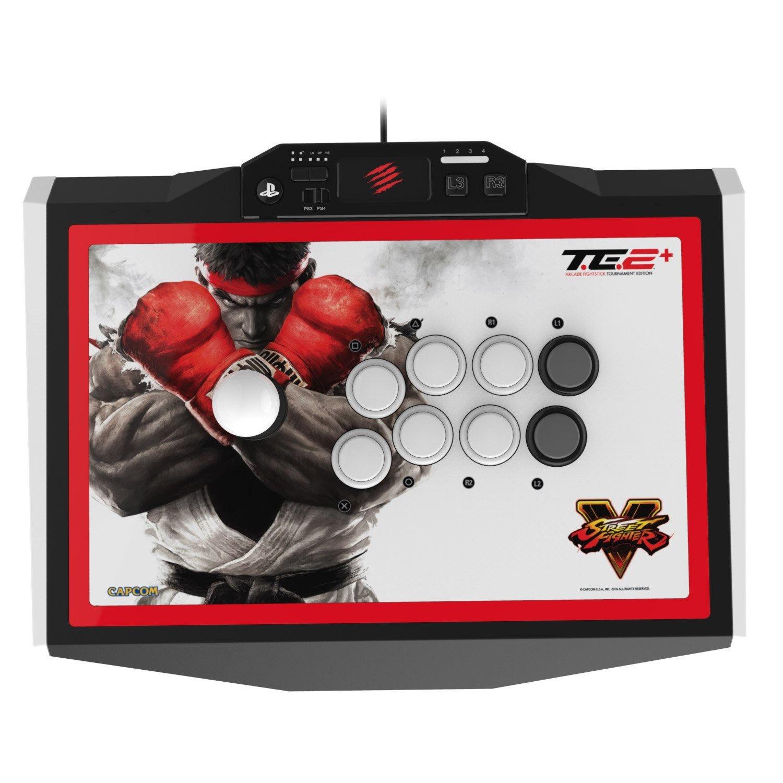 PS 4 Аркадный Стик Mad Catz Street Fighter V Arcade FightstickTE 2 + (SFV89481BSA1/01/1)