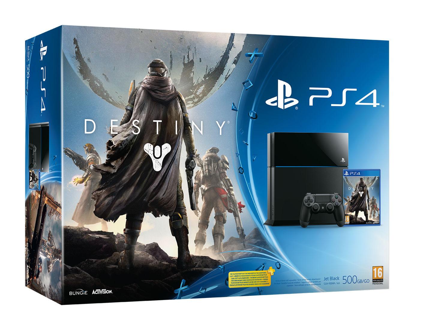 PlayStation 4 500 Gb (CUH-1008A/B01) + игра «Destiny»