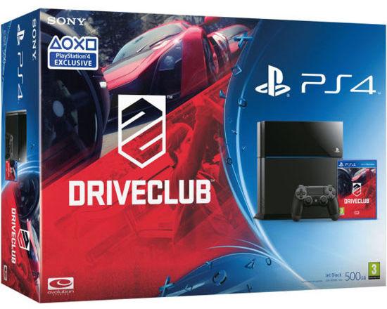 PlayStation 4 500 Gb (CUH-1108A/B01) + игра «Driveclub»