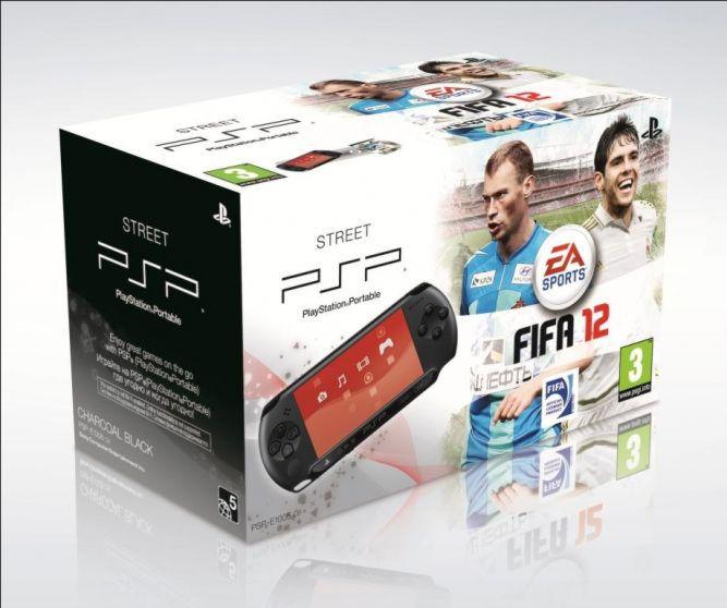 Playstation PSP — E1008CB Street + игра «FIFA 2012» (русская версия)