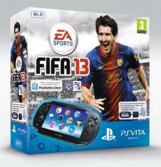 Playstation PS Vita Wi-Fi Black Rus (PCH-1008ZA01)+4GB memory card + код FIFA 13