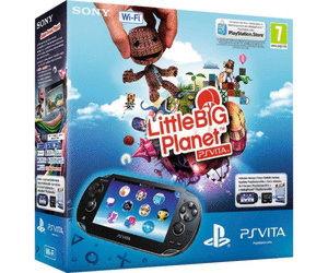 Playstation PS Vita Wi-Fi Black Rus (PCH-1008ZA01)+4GB memory card + код LittleBigPlanet