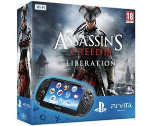 Playstation PS Vita Wi-Fi Black Rus(PCH-1008ZA01)+4GB memory card+код Assassin'sCreed III Liberation