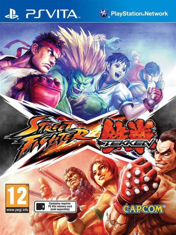 Street Fighter X Tekken ( русские субтитры) PSV