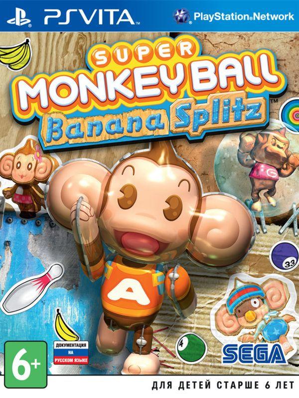 Super Monkey Ball Banana Splitz PSV