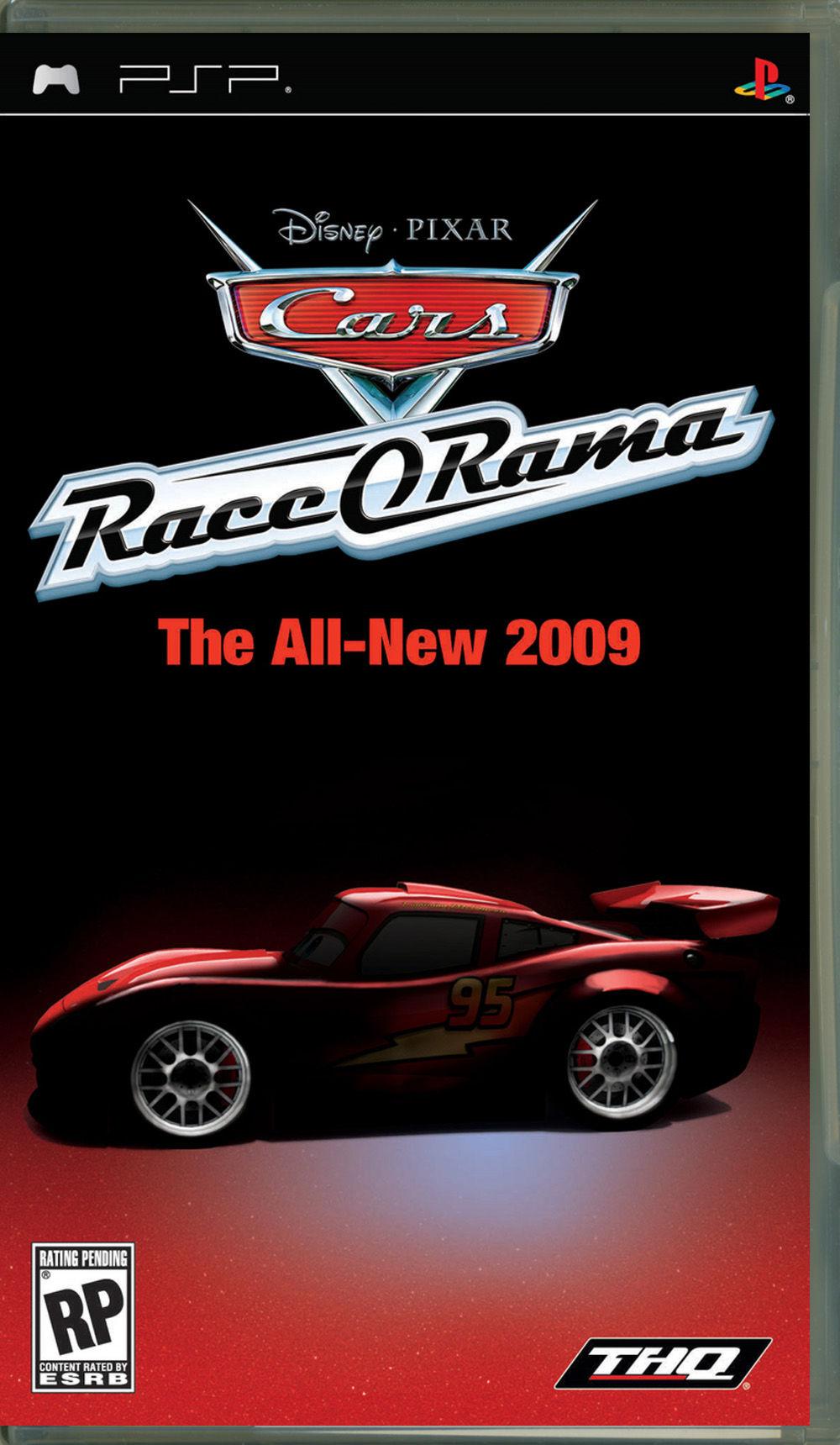 Тачки: Race O Rama  (русская документация) PSP