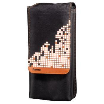 PS Vita Сумка HAMA Pixel Smash (H-114163) черный/оранжевый