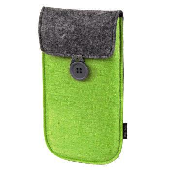 PS Vita Сумка HAMA SlimFelt универсальный (H-114185) зеленый/серый