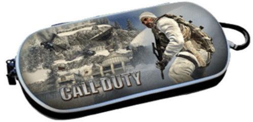 PSP Slim 3000 Сумка жёсткая 3D Call of Duty (PA-084)