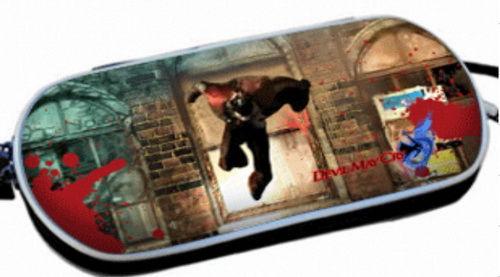 PSP Slim 3000 Сумка жёсткая 3D Devil May Cry (PA-057)