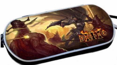 PSP Slim 3000 Сумка жёсткая 3D Diablo III (PA-054)
