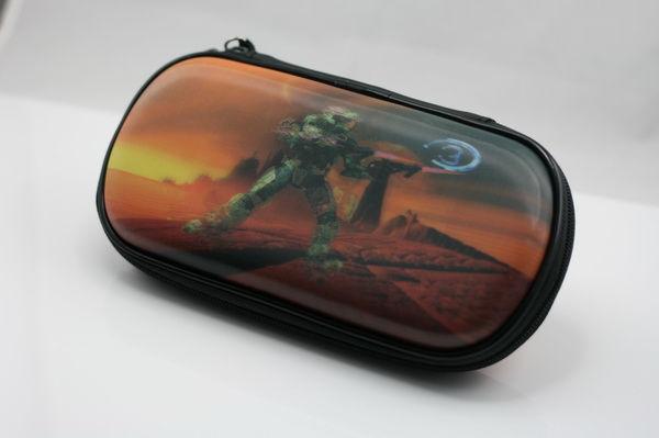 PSP Slim 3000 Сумка жёсткая 3D Halo 3 (PA-010)