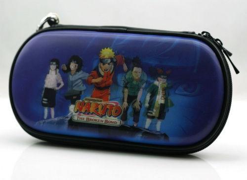 PSP Slim 3000 Сумка жёсткая 3D Naruto (PA-016)