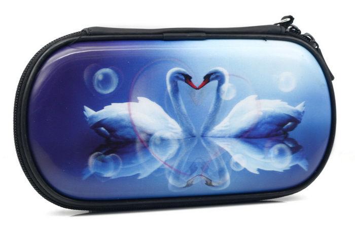 PSP Slim 3000 Сумка жёсткая 3D Swan (лебеди) (PA-101)