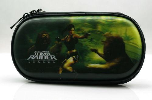 PSP Slim 3000 Сумка жёсткая 3D Tomb Raider (P3000-29)